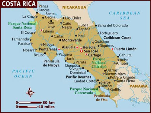 Where is Costa Rica