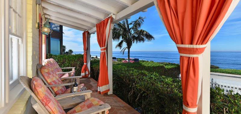 Ocean Front Beach Cottage Villa Rental