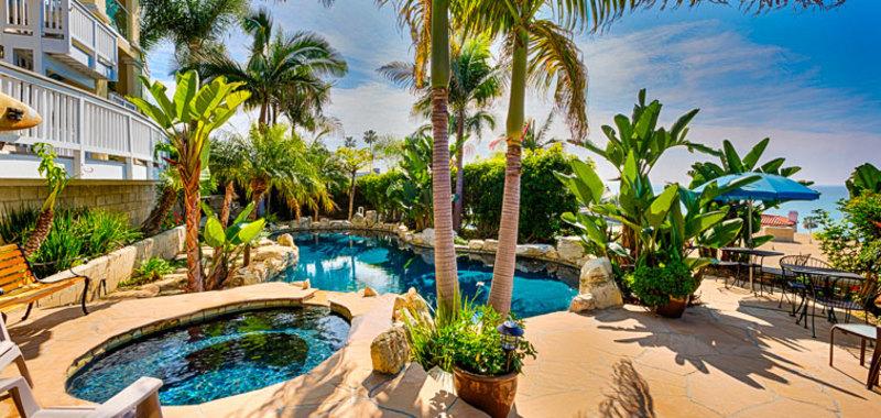 Poolside Paradise in San Clemente Villa Rental